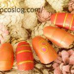 100均【ネイルに春が来た】ピンクいっぱい!ボーダーミラーネイルのやり方