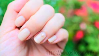 【育爪1か月目】ピンクの部分を伸ばしたい!スクエアネイルに変えたよ